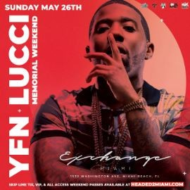 Image for Memorial Day Weekend YFN Lucci Live At Exchange Miami