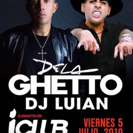 Image for De La Ghetto con Dj Luian en Concierto en Houston,TX