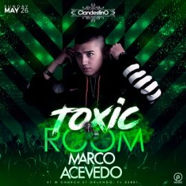 Image for Marco Acevedo  - TOXIC ROOM -