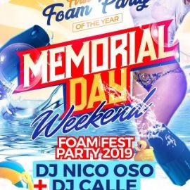 Image for The First FOAM PARTY of The Year!