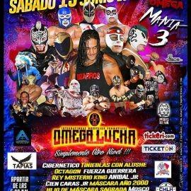 Image for Omega Lucha con Cibernetico Tinieblas con Alushe y mucho mas en Cicero,IL