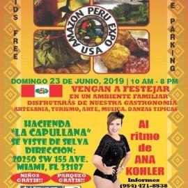 Image for 6ta Feria Amazonica en Miami al Ritmo de Ana Kohler / 6th Peruvian Amazonian Festival in Miami