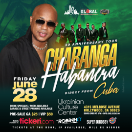 Image for David Calzado & La Charanga Habanera 30 Anniversay Tour in Los Angeles NEW DATE CONFIRMED