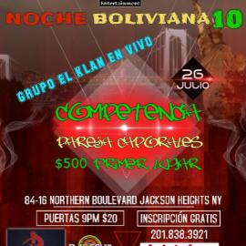 Image for NOCHE BOLIVIANA 10 PAREJA CAPORALES