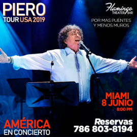 Image for PIERO EN CONCIERTO TOUR USA