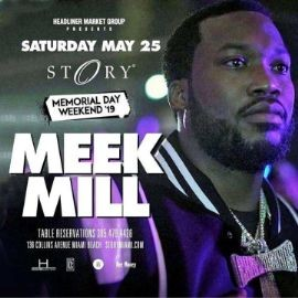 Image for Memorial Day Weekend Meek Mill Live At Story Nightclub