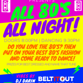 Image for ALL 80's ALL NIGHT