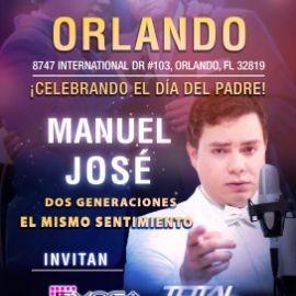 Image for Manuel Jose tour usa 2019 ORLANDO