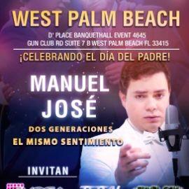 Image for MANUEL JOSE TOUR USA  2019 WEST PALM BEACH