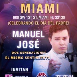 Image for Manuel Jose tour usa 2019 MIAMI