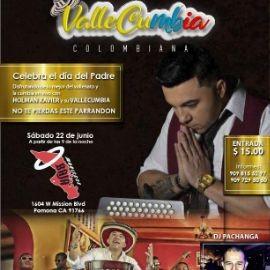 Image for Holman Xavier y Su Vallecumbia en Concierto en Pomona,CA