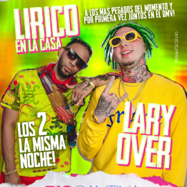 Image for Lirico en la Casa y Lary Over en Vivo