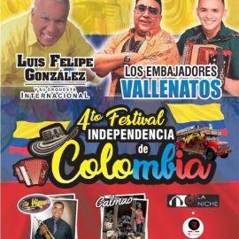 Image for 4to Festival Independencia de Colombia en San Jose,CA