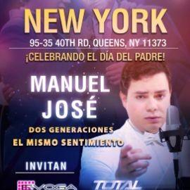 Image for Celebrando el dia del Padre con Manuel Jose en NY