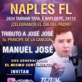 Image for Homenaje a Jose Jose con  Manuel Jose en Naples Fl