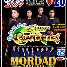 Image for Arturo Jaimes y Los Cantantes, Mordad Orquesta en Concierto en Canoga Park,CA