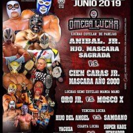 Image for Omega Lucha con Anibal Jr. Hjo. Mascara Sagrada vs. Cien caras JR. Mascara Año 2000 en Milwaukee,WI