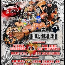 Image for Omega Lucha con Fuerza Guerrera vs. The King Rey Misterio en Indianapolis,IN
