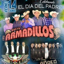 Image for Los Dueto Armadillos, Proyecto de Mexico,Oscar Adrian y la Banda Rodeo en Concierto en Santa Maria, CA