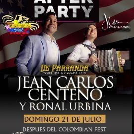Image for Jean Carlos Centeno - Official Colombian Fest After Party en Houston,TX