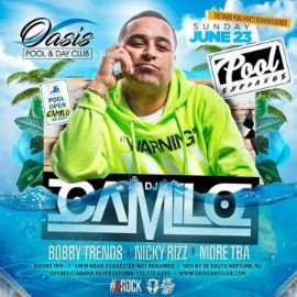 Image for Pool Exchange DJ Camilo Live With DJ Bobby Trends At Oasis Pool & Day Club
