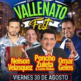 Image for Vallenato Fest Miami con Nelson Velasquez, Poncho Zueta y Omar Geles
