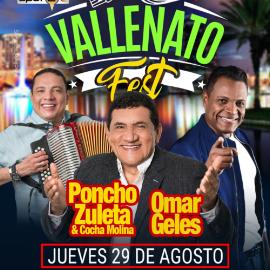 Image for Vallenato Fest Orlando con Poncho Zuleta y Omar Geles