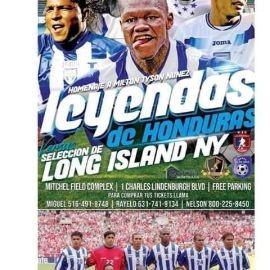Image for Mega Homenaje a Tyson Nuñez - Leyendas de Honduras vs. Seleccion de Long Island en Uniondale,NY