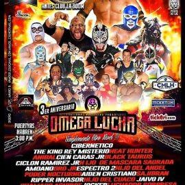 Image for Omega Lucha con Cibernetico,The King Misterio,Heat Hunter y Muchos Mas en Houston,TX