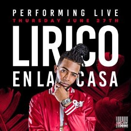 Image for Lirico en la Casa Performing LIVE @Barcode