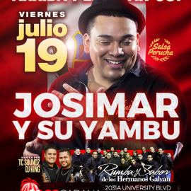 Image for Josimar y su Yambu Celebrando Fiesta Patrias!!  $30 $30 $30 for limited time!! Dont Miss Out!!!!
