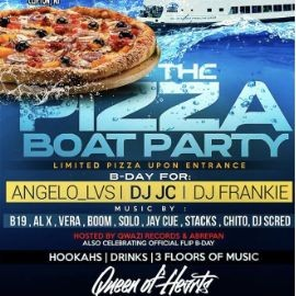 Image for The Pizza Boat Party Cruise At Liberty Harbor Marina