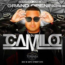 Image for Grand Opening Of DJ Camilo Live At La Terraza NYC