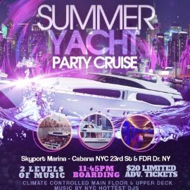 Image for Summer Midnight Kickoff Yacht Party Cruise At Jewel