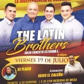 Image for The Latin Brothers Celebrando La Independencia de Colombia en Silver Spring,MD