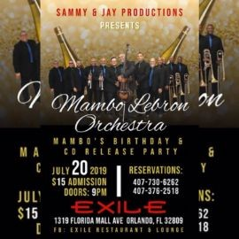 Image for Mambo Lebron Orchestra CD Release & Birthday Party