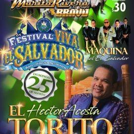 """Image for Festival Viva El Salvador, con Hector Acosta """"El Torito"""",Marito Rivera y su Grupo Bravo y Mucho Mas En Concierto en Bell Gardens,CA"""
