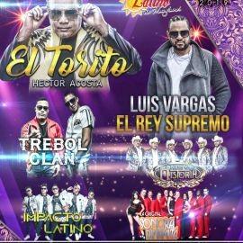 Image for 8vo Festival Latino con Luis Vargas,Hector Acosta,Trebol Clan & Mas en Timonium,MD