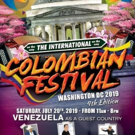 Image for The  International Colombian Festival  Washington DC 2019