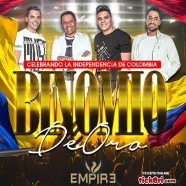 Image for Binomio De Oro LIVE at Empire Lounge!