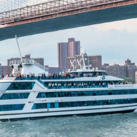 Image for #1 NYC Yacht Cruise on Hornblower's Infinity Mega Yacht around Manhattan