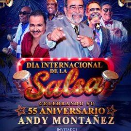 Image for El Dia Internacional de la Salsa  Andy Montañes 55 aniversario