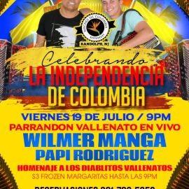 Image for CELEBRANDO LA INDEPENDENCIA DE COLOMBIA CON WILMER MANGA