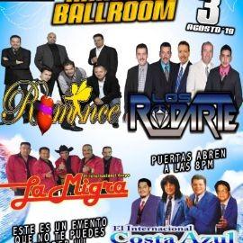 Image for Los Rodarte,Grupo Romance,La Migra y Costa Azul En Concierto En Fresno,CA