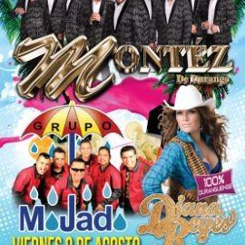 Image for Montez de Durango, Grupo Mojado & Diana Reyes en Silver Spring,MD