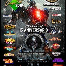 Image for Rumbo al 15 Aniversario Omega  Entertainment Fest 2019-POSTPONED