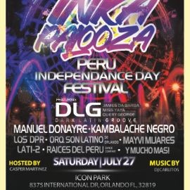 Image for INKA PALOOZA  (PERU INDEPENDENCE DAY FESTIVAL 2019 @ ICON PARK ORLANDO FL)