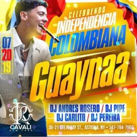 Image for Colombian Independence Party Guaynaa Live At Cavali