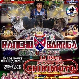 Image for Rancho Barriga Gira USA 2019,Los Toros Transformes En Kearneysville,WV