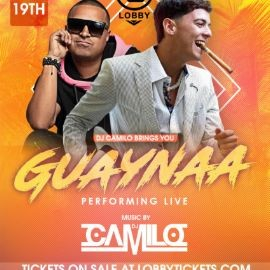 Image for Guaynaa Live With DJ Camilo At The Lobby